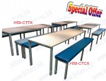 long bench / working table / conference table / canteen table H59-CTTX